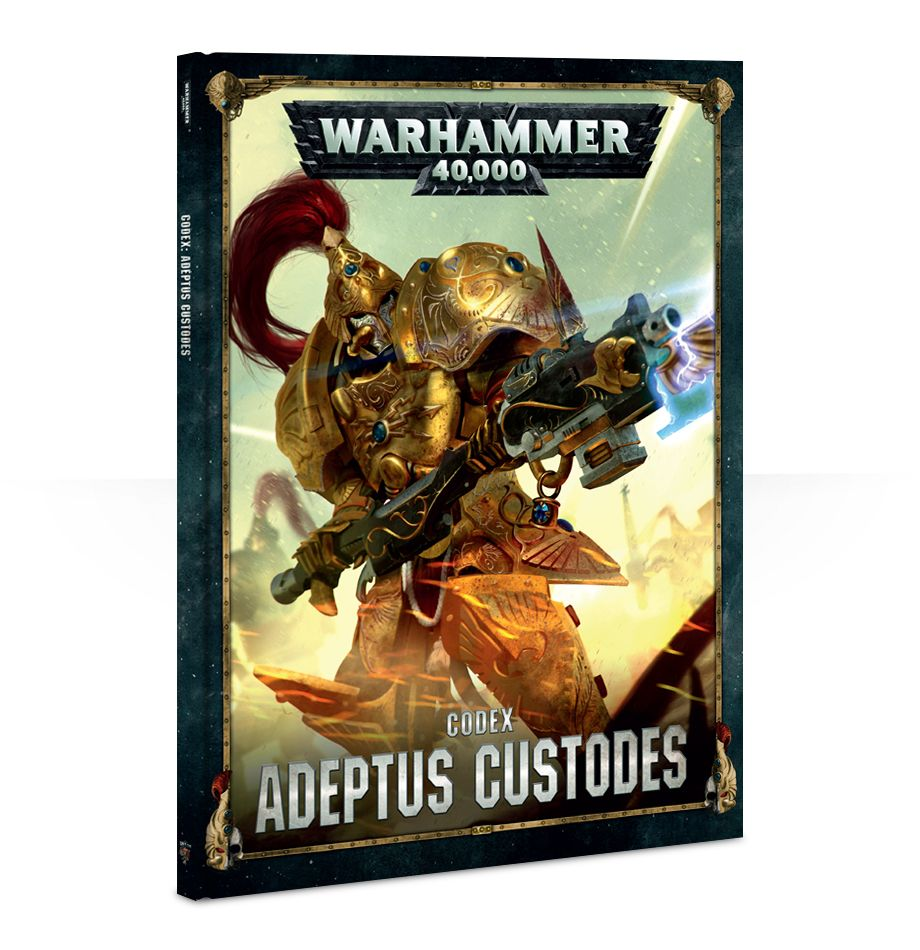 Games Workshop Adeptus Custodes Codex