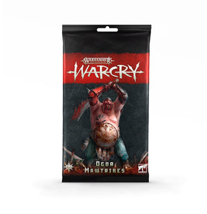 Games Workshop Warcry: Ogor Mawtribes Card Pack