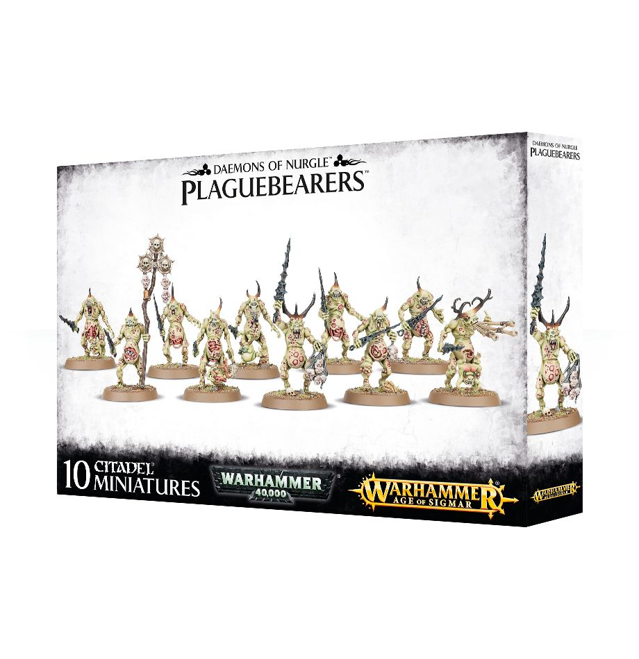 Games Workshop Plaguebearers Of Nurgle