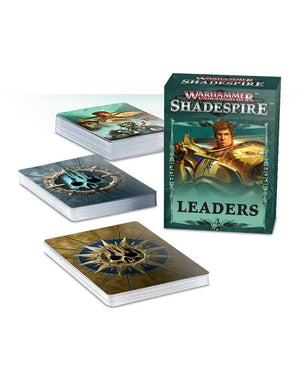 Games Workshop Warhammer Underworlds: Shadespire Leader Cards (En)