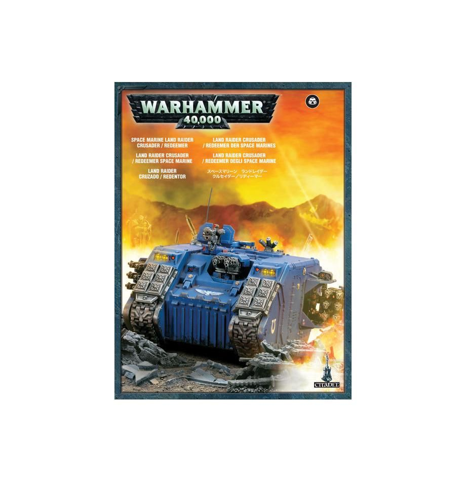 Games Workshop Land Raider Redeemer / Land Raider Crusader