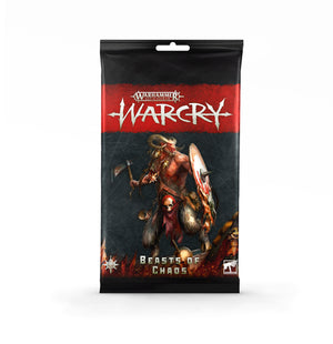 Games Workshop Warcry: Beasts of Chaos Card Pack