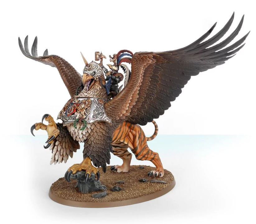 Games Workshop Freeguild General on Griffon    / Battlemage on Griffon