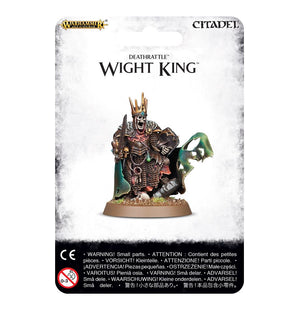 Games Workshop Wight King With Baleful Tomb Blade