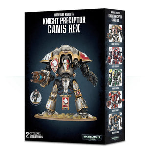 Game Workshop Knight Preceptor Canis Rex