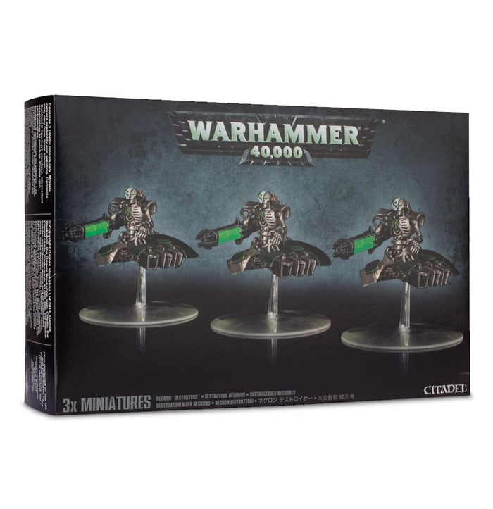 Games Workshop Necron Destroyers Squadron