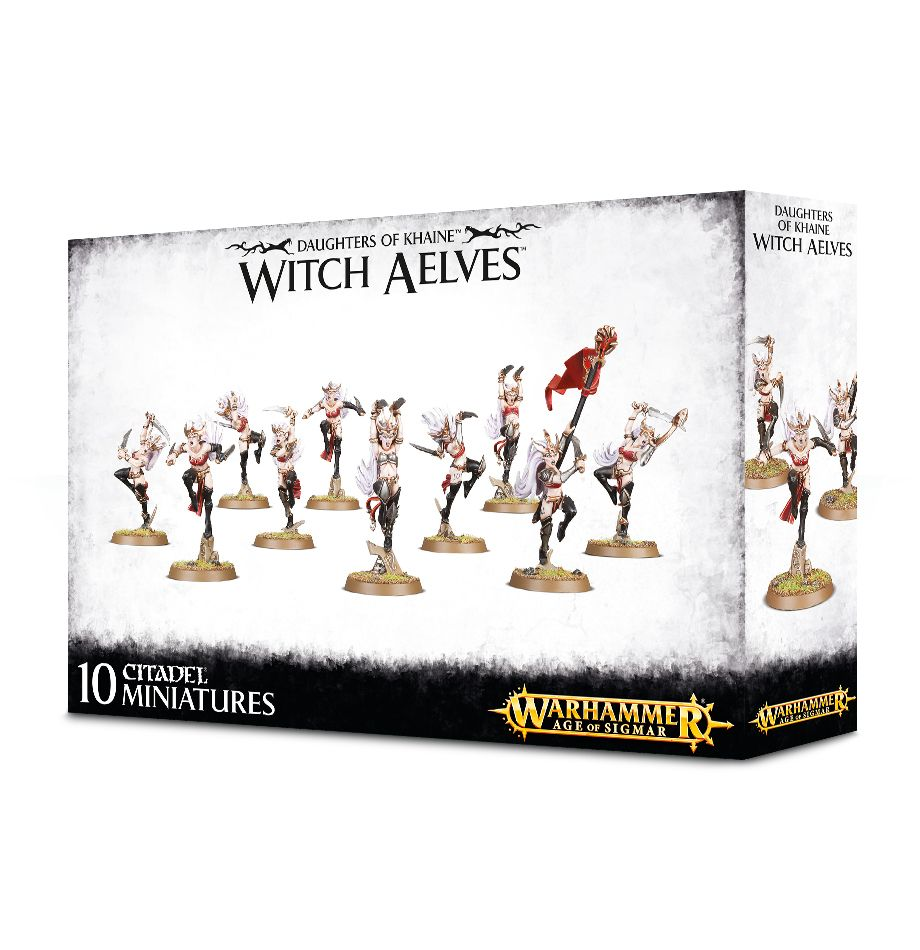 Games Workshop Witch Aelves /Sisters Of Slaughter