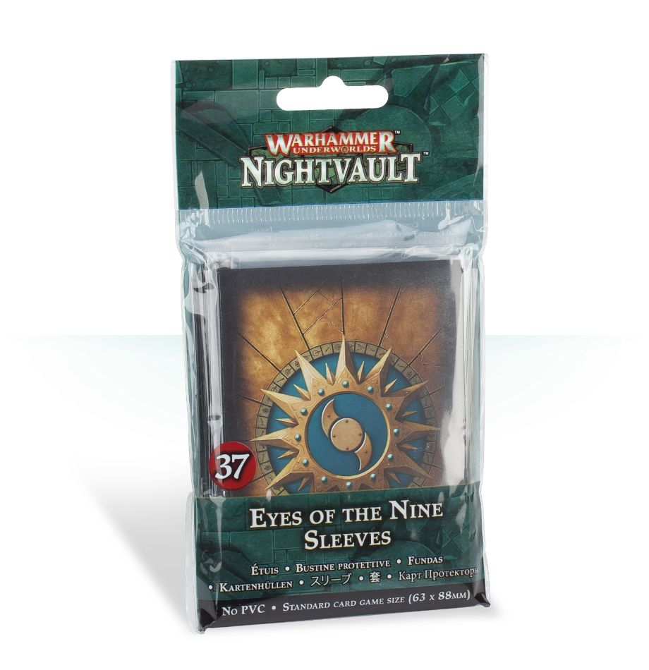 Games Workshop Eyes of the Nine Sleeves