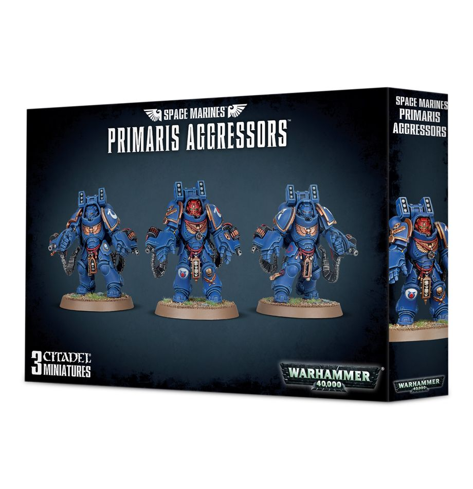 Games Workshop Primaris Aggressors Squad