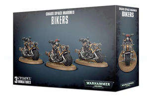 Games Workshop Chaos Bikers