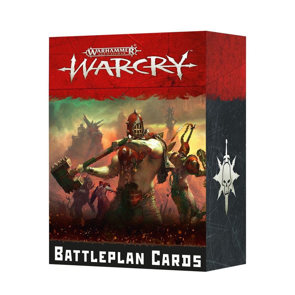Games Workshop Warcry Battleplan Cards