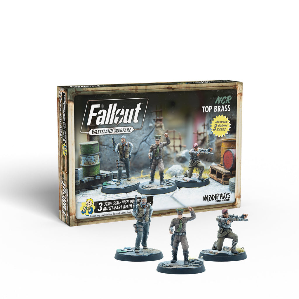Fallout: Wasteland Warfare - NCR: Top Brass