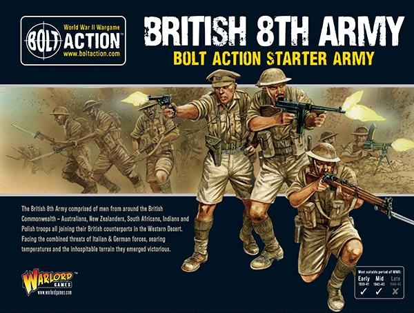 Bolt Action: 8th Army starter army