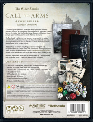 Elder Scrolls: Call to Arms Core Rules Box