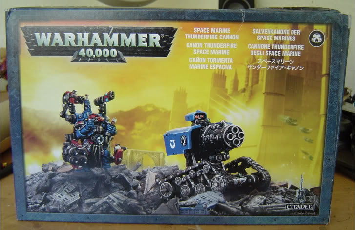 Games Workshop Thunderfire Cannon