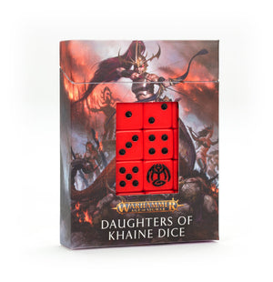 Games Workshop Daughters of Khaine Dice Set
