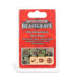 Games Workshop Warhammer Underworlds: Beastgrave – The Grymwatch Dice Pack
