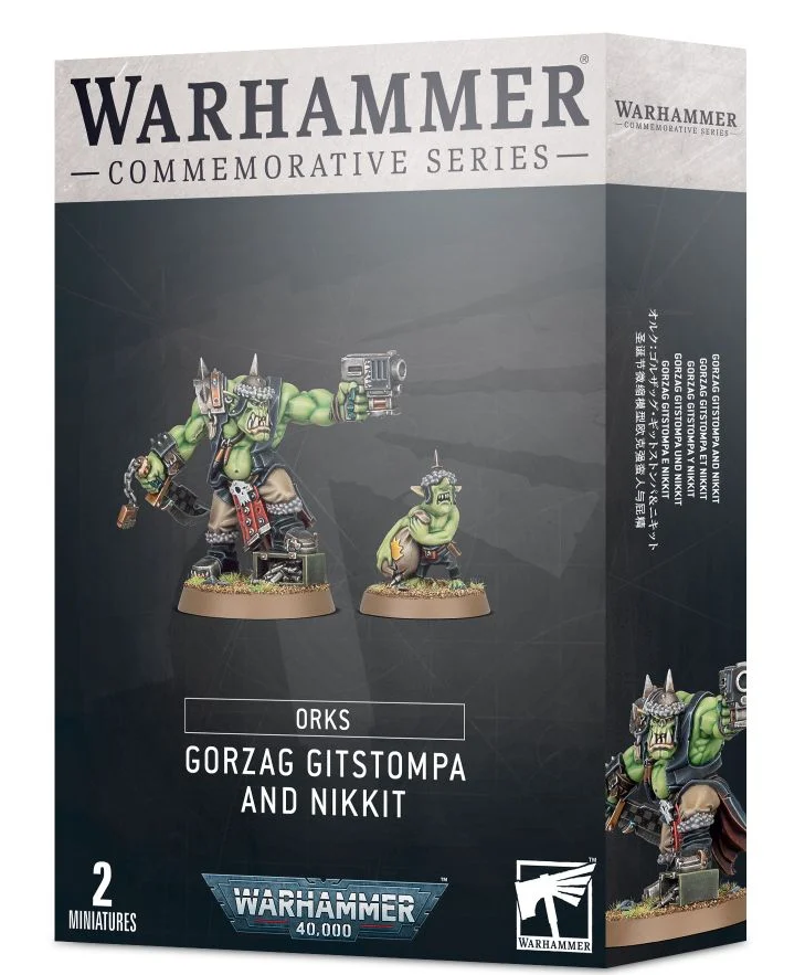 Games Workshop Gorzag Gitstompa and Nikkit