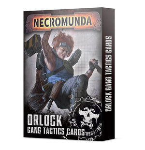 Games Workshop Necromunda: Orlock Gang Tactics Cards