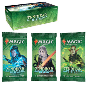 Magic The Gathering Zendikar Rising draft Booster Pack