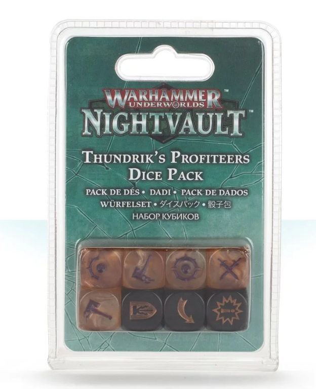 Games Workshop Thundrik's Profiteers Dice