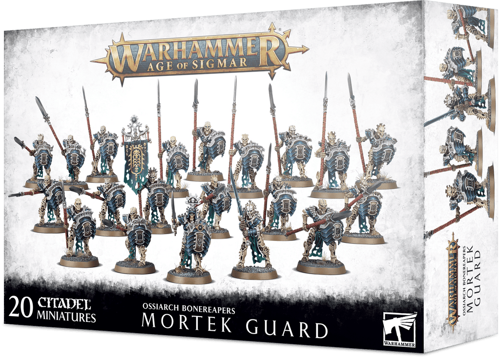 Games Workshop Mortek Guard