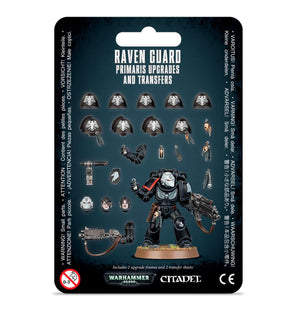 Games Workshop Raven Guard Primaris Upgrades and Transfers