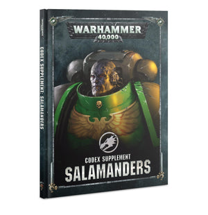 Games Workshop Codex Supplement: Salamanders