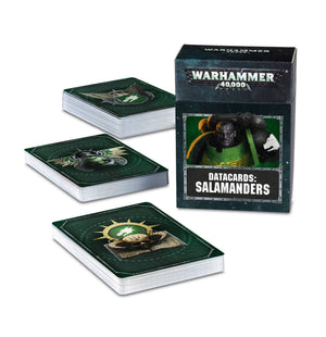 Games Workshop Datacards: Salamanders