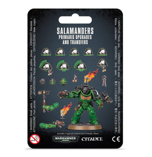 Games Workshop Salamanders Primaris Upgrades and Transfers