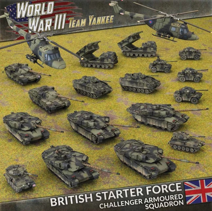WWIII: Team Yankee British Starter Force - TBRAB03