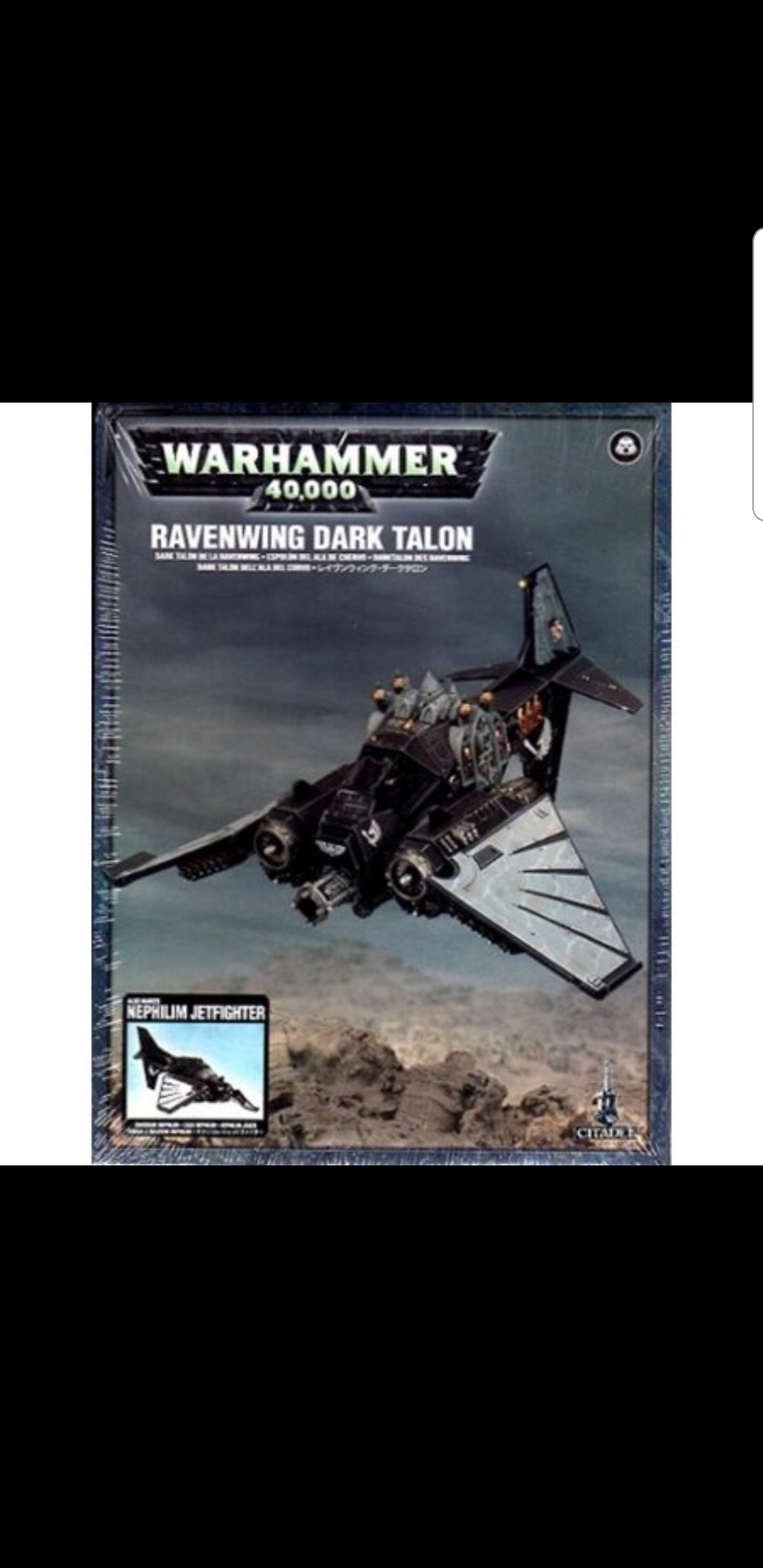 Games Workshop Nephilim Jetfighter