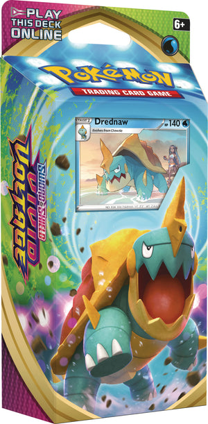 Pokemon TCG: Sword & Shield 4 Vivid Voltage Theme Deck CDU  Drednaw