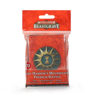 Games Workshop Lady Harrow's Mournflight Premium Sleeves