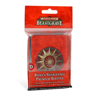 Games Workshop Warhammer Underworlds: Beastgrave – Rippa's Snarlfangs Premium Sleeves