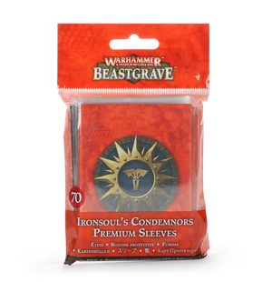 Games Workshop Ironsoul's Condemnors Premium Sleeves