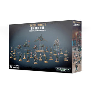 Games Workshop Drukhari Poisonblade Raiding Party