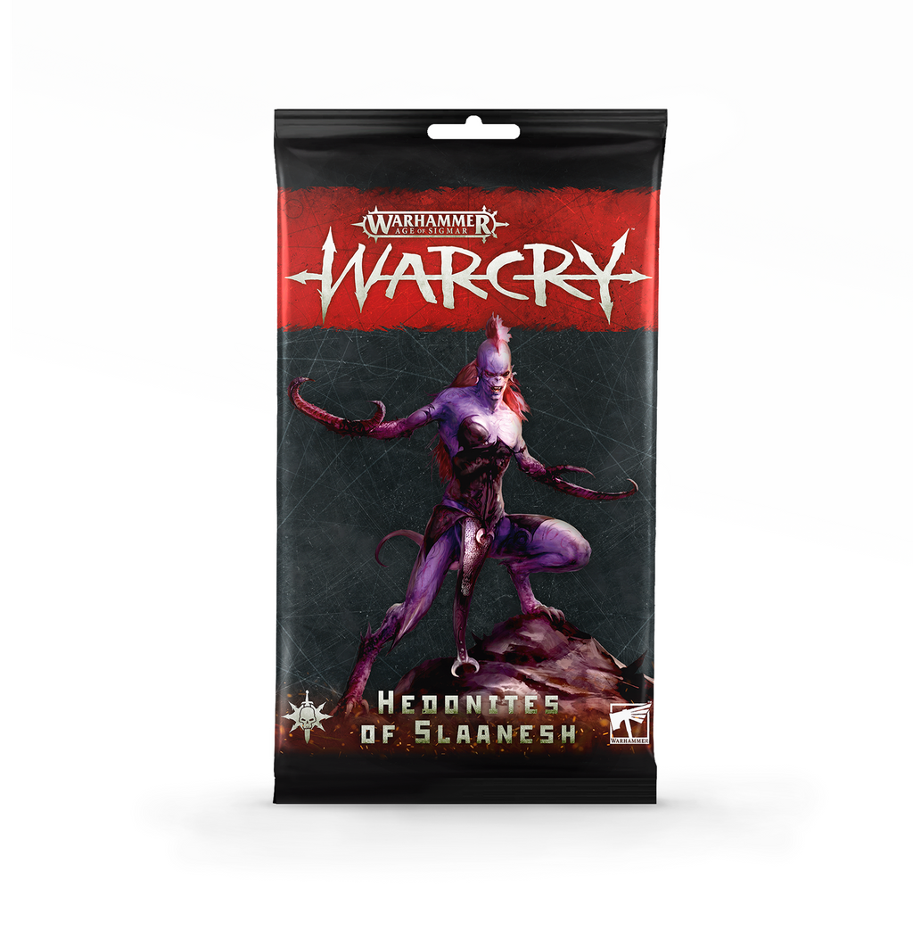 Games Workshop Warcry: Hedonites of Slaanesh Cards