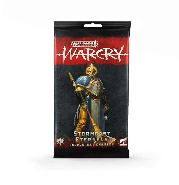 Games Workshop Warcry: Stormcast Eternals Sacrosanct Chamber Cards