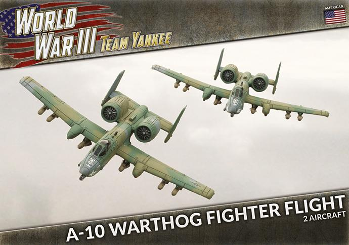 A-10 Warthog Fighter Flight - Team Yankee Americans - TUBX27