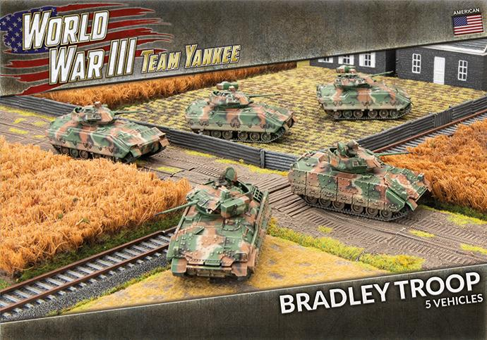 M2 or M3 Bradley Troop - Team Yankee Americans - TUBX19