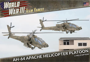 AH-64 Apache Helicopter Platoon - Team Yankee Americans - TUBX21