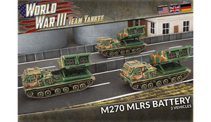 British M270 MLRS Rocket Launcher Battery - Team Yankee - TUBX25