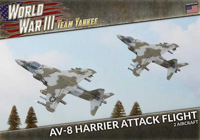 AV-8 Harrier Attack Flight - Team Yankee Americans - TUBX26
