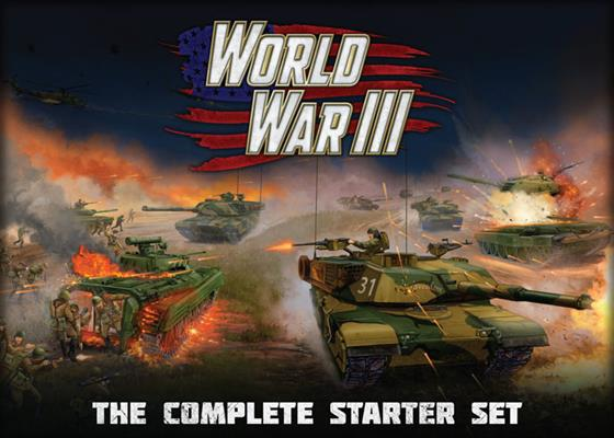 "Team Yankee ""WWIII"" The Complete Starter Set - Team Yankee Americans - TYBX02"