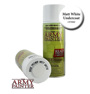 The Army Painter Matt White Undercoat Spray