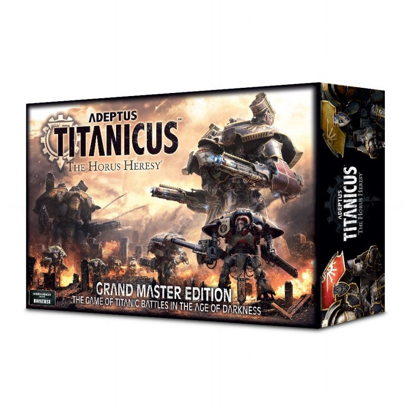 (2019 reprint) Adeptus Titanicus: Grand Master Edition