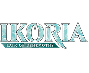 MTG: Ikoria- Lair of Behemoths Theme Booster - Black
