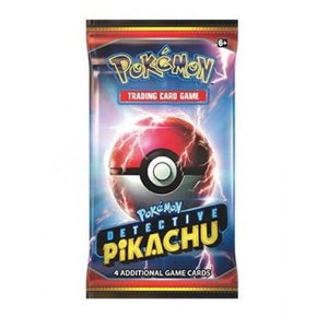 Pokemon TCG Detective Pikachu booster packs x8