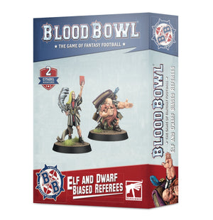 Games Workshop BLOOD BOWL ELF AND DWARF BIASED REFEREES